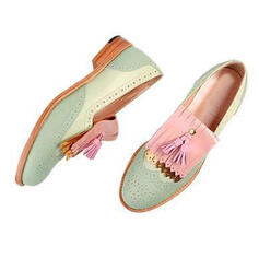 Women's PU Others Flats With Tassel shoes