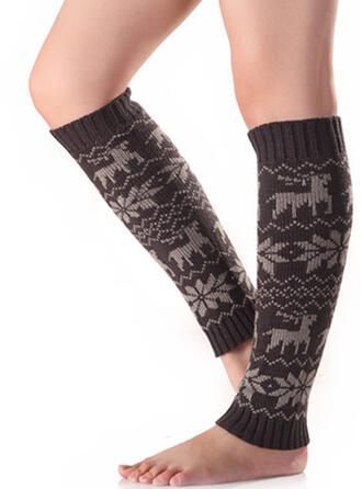 Christmas/Christmas Reindeer Women's/Christmas/Calf Socks Socks
