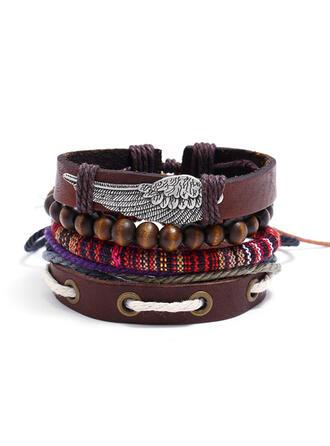 Unique Exquisite Stylish Alloy Leatherette Bracelets Beach Jewelry
