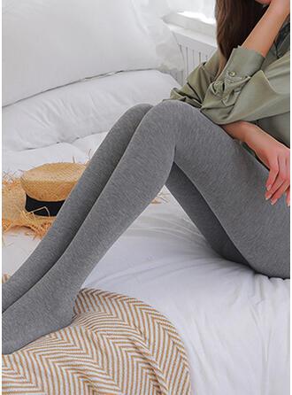 Solid Elegant Sexy Leggings