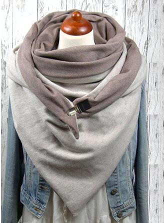 Solid Color/Retro/Vintage Reusable/Women's/Simple Style Scarf