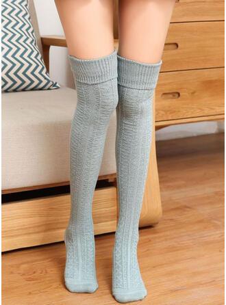 Solid Color Warm/Comfortable/Women's/Knee-High Socks Socks/Stockings