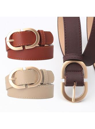 Metal Buckle Alloy Leatherette Ladies' Unisex Girl's Belts